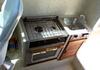 '29 Oven & Sink