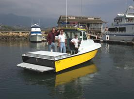 Castaic Lifeguard Boat