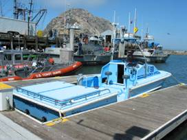 Morro Bay Rescue Boat After