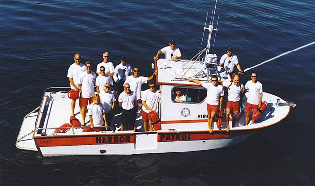 The Port San Luis Harbor Patrol / Rescue staff
