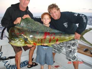 Maui fishing action