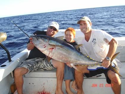 70 pound tuna