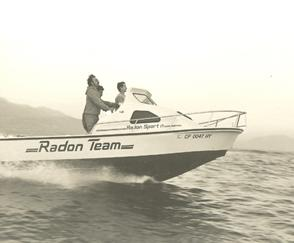 Don driving the Radon 17'