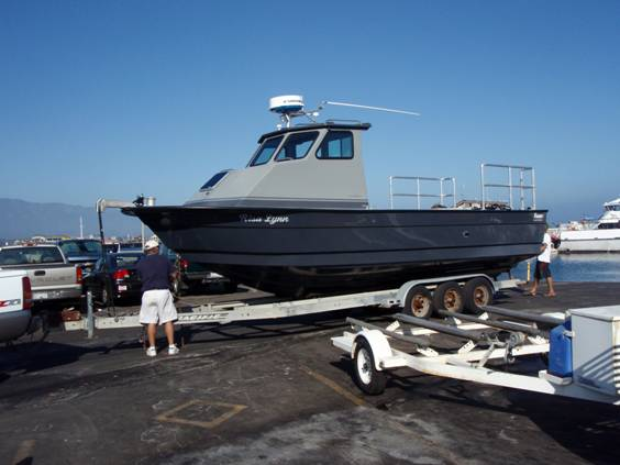 Commercial fishermen get a new 29' Radon