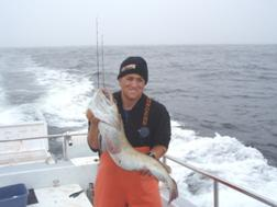 Joe Costarella with ling cod