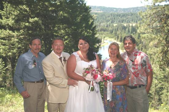Jeff, Jeremy, Kate, Joan (Jeremy's mom) & Bob (Jeremy's step father)