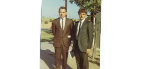 Ron Sr. and Don Radon